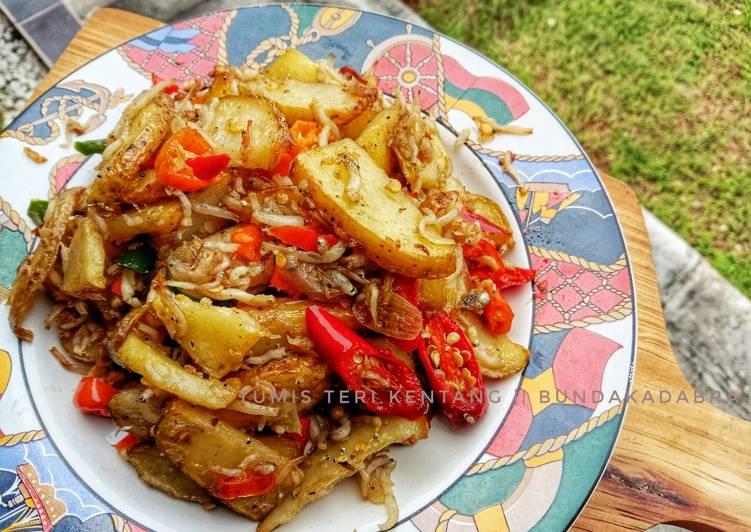 Tumis Teri Kentang a.k.a Spicy Fries 😍