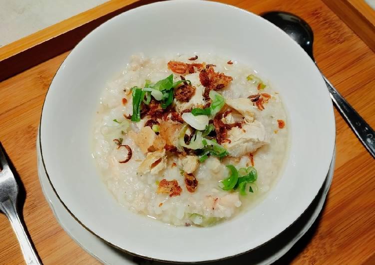 Bubur Ayam Cina Sederhana (Chinese Porridge)