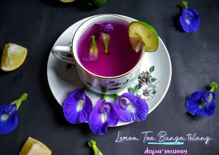Lemon Tea Bunga telang
