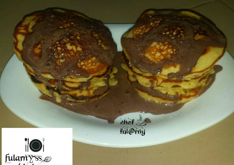 "Banana pancakes by ful@rny""ss kitchen"