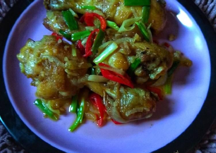 Langkah Mudah Untuk Menyiapkan Ayam Goreng Mentega Simple Selasabisa Bikinramadanberkesan Enak Resep Masakanku