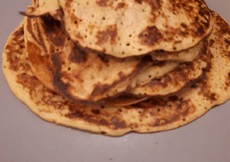 Pancakes sains à 3 ingrédients!!