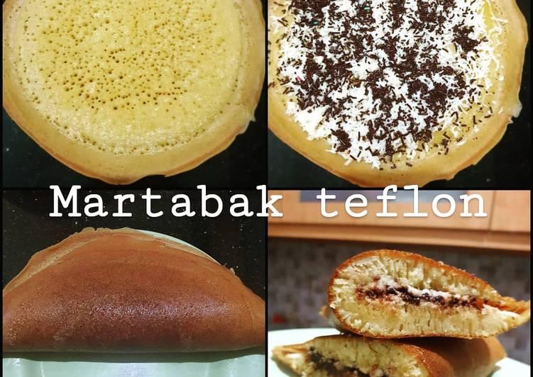 Resep Martabak Teflon Anti Gagal