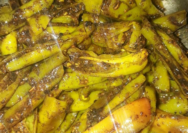 Fried chillies