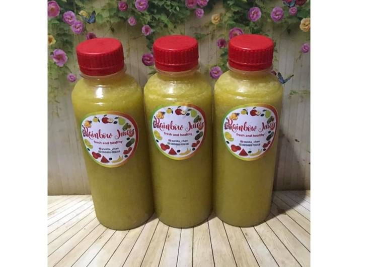 Diet Juice Asparagus Star Fruit Mango Apple