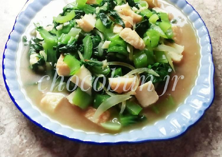 Cah Pakchoy Tahu Seafood