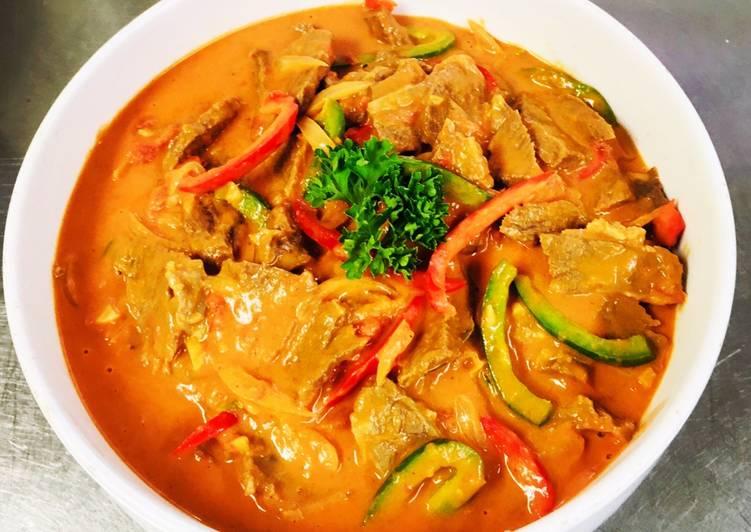 Resep Beef Goulash Ala Chef Turnip, Bikin Ngiler