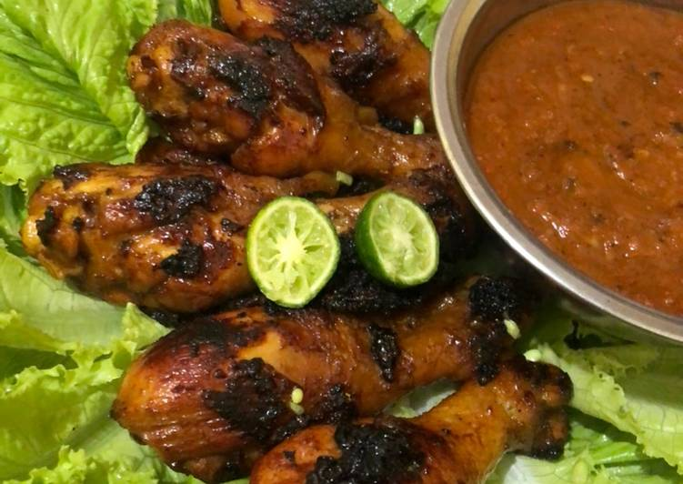Ayam bakar madu simple & empuk