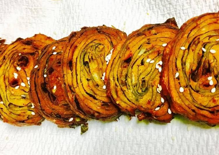How to Prepare Favorite Alu Vadi (taro, arbi, colocasia leaves vadi) / Pathra/ Pathrode