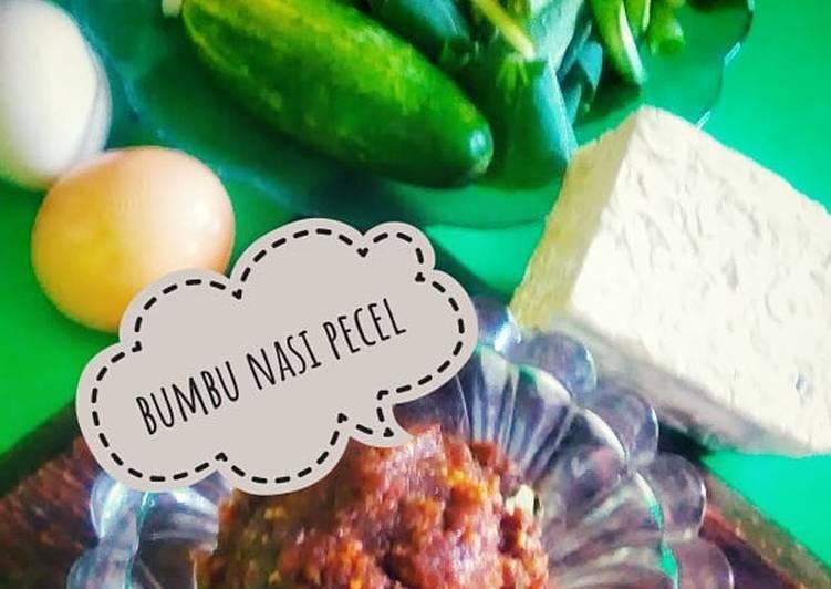 Bumbu nasi pecel homemade(versi minimalis)#diulekAsik