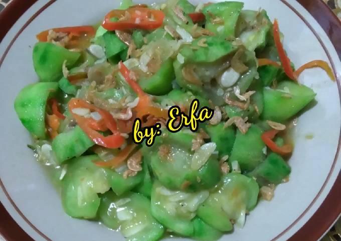 Resep Tumis Oyong Udang Rebon Oleh Detasty Erfa Cookpad