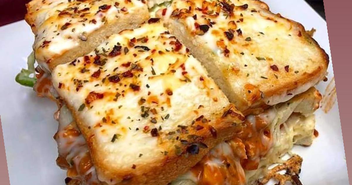 Cheese Club Sandwich Pizza Recipe By Kanishek Sharma Cookpad