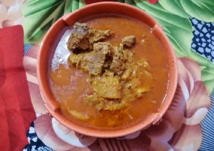 Hyderabadi Mutton Khorma/Aaloo Gosht Khorma