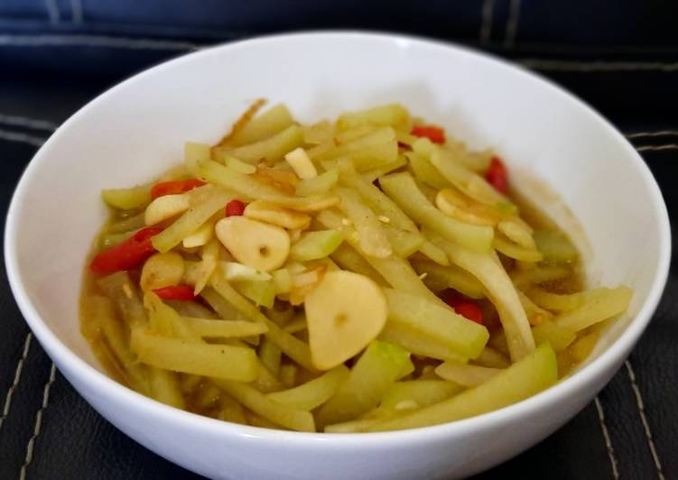 Resep Tumis sayur labu siam Yang Umum Pasti Ngiler