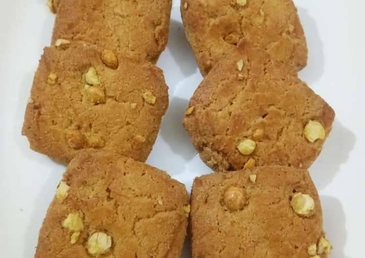 Roasted Chana Dal Besan Cookies