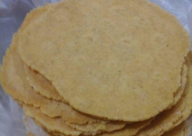 Masa Para Tacos Rápida Sin Gluten Apto Celíacos Receta De Carolina De Los Ríos Cookpad