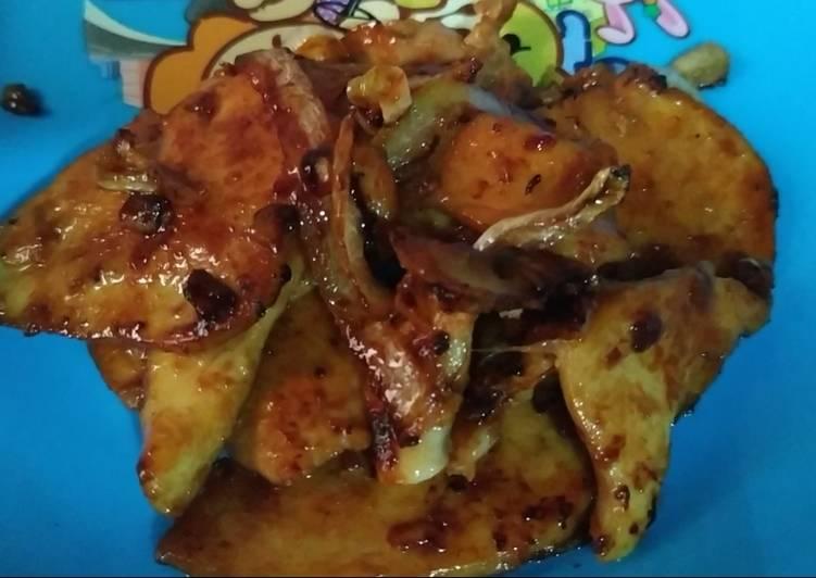 Grilled chicken fillet / daging ayam panggang. Resep tersimpel - cookandrecipe.com