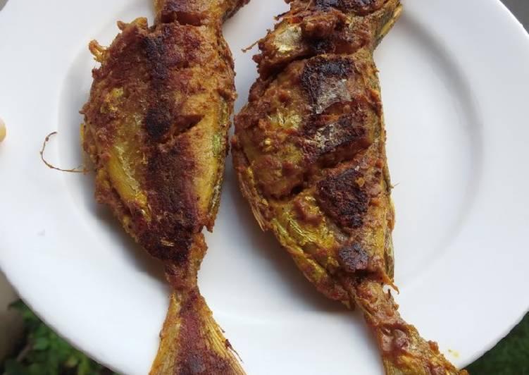 17. Ikan bakar padang