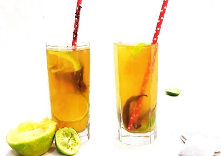 How to Prepare Tasty Green tea lemonade
