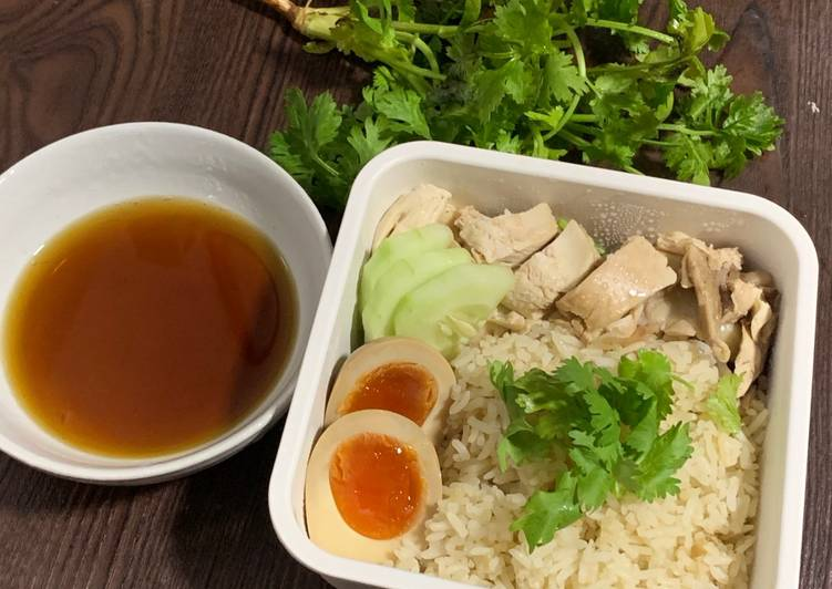25 Minute Step-by-Step Guide to Make Quick LunchBox Mealsʕ·͡ᴥ·ʔ: Singaporean Chicken Rice Recipe