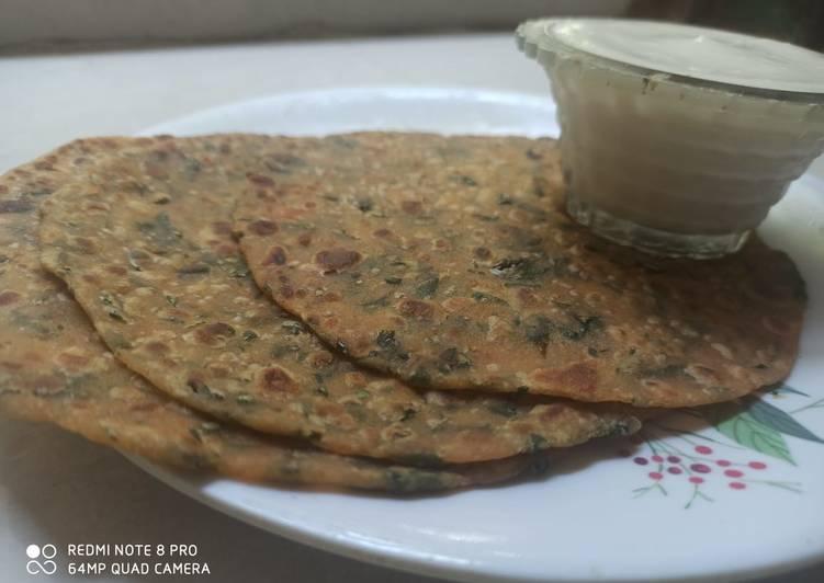 Simple Way to Prepare Perfect Moringa leaves paratha