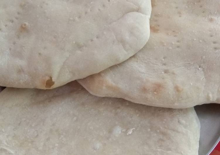 Homemade pizza base