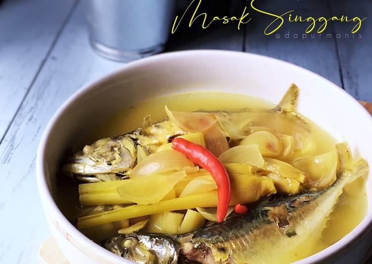 Ikan Kembung Masak Singgang (Menu Bajet RM5 untuk 4 orang)