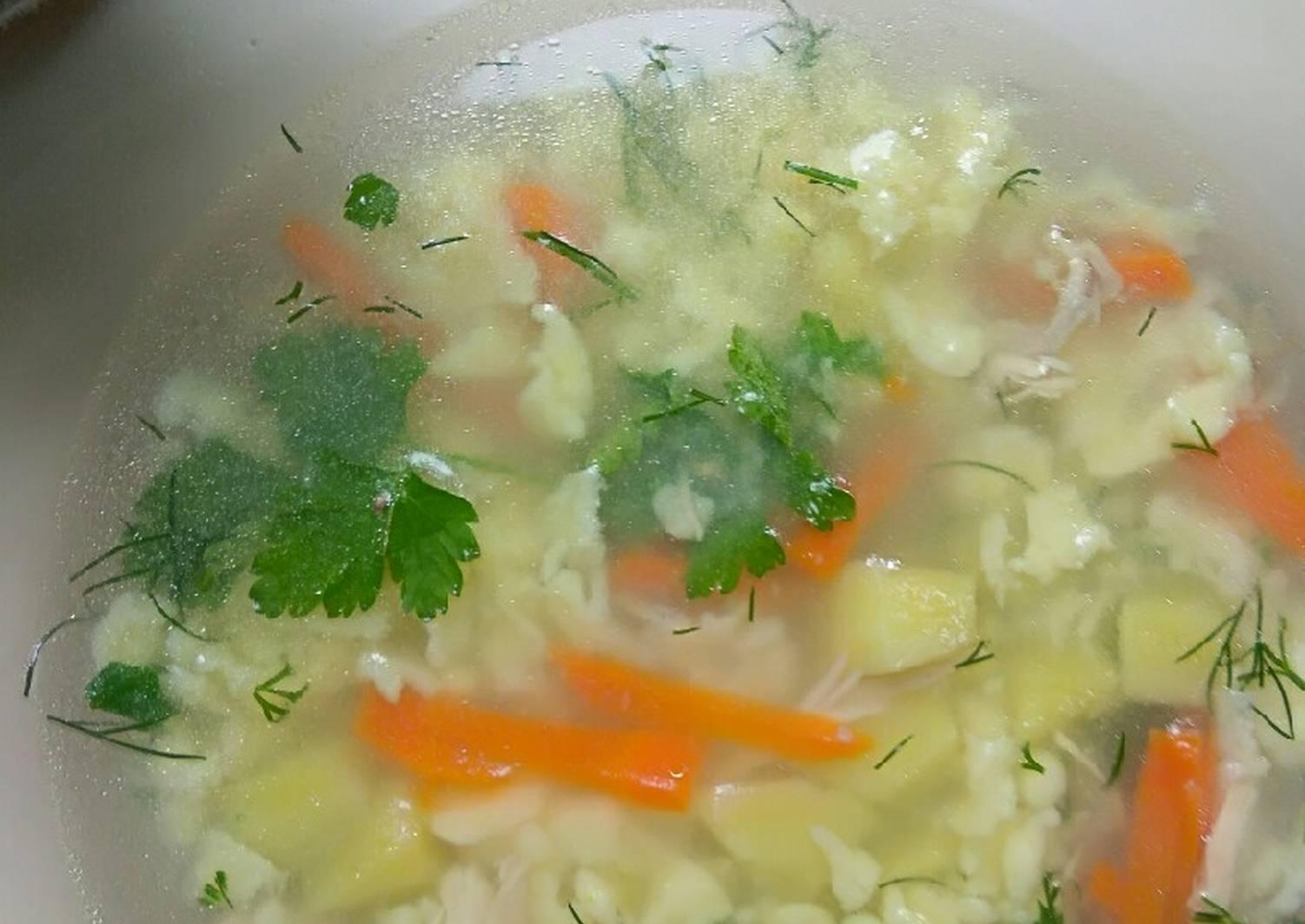 эпизодических необычный суп из курицы рецепт с фото лицо