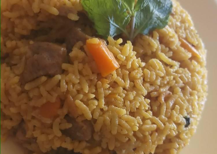 Recipe of Homemade Soya biriyani