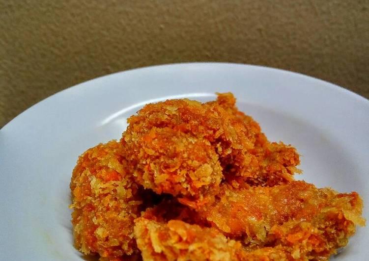 Telur ikan goreng