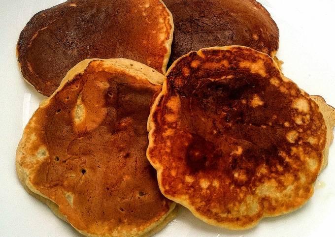 Pancakes banane et graines de lin