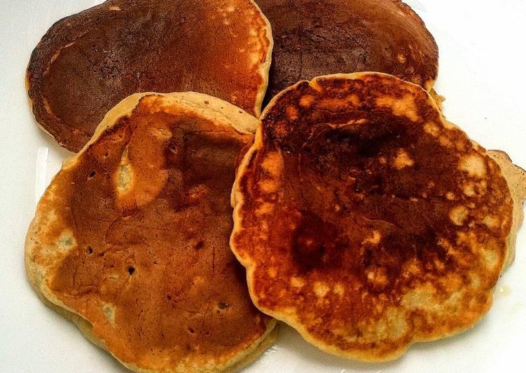 Le moyen le plus simple de Cuire Délicieux Pancakes banane et graines de lin