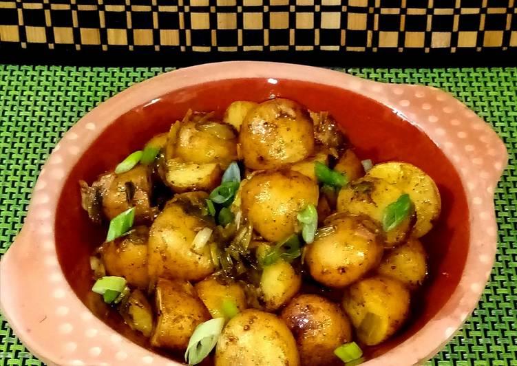 Simple Way to Prepare Super Quick Homemade Salt and vinegar potatoes