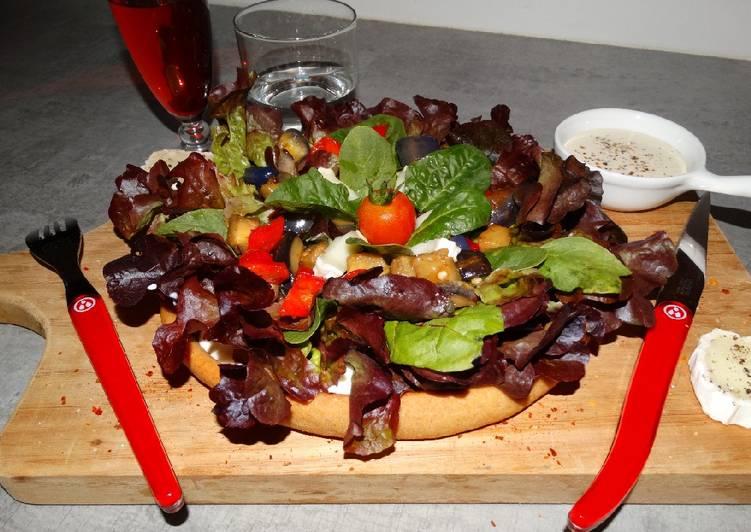 🍴🍕 pizza aux légumes du soleil 🍕🍴