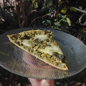 Tarta de brócoli y acelga fácil y económica ??
