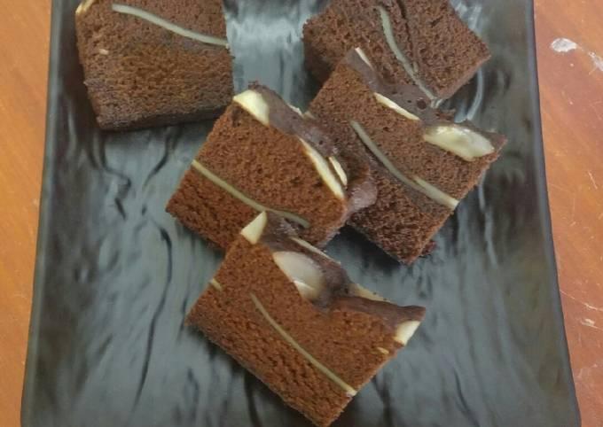 Brownies kukus butter nyoklat (tanpa minyak)
