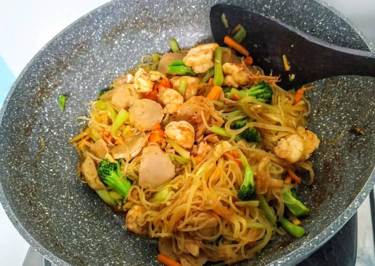 Bihun Sayur Seafood