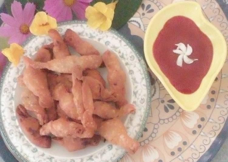Recipe of Quick Tandoori chicken toffees