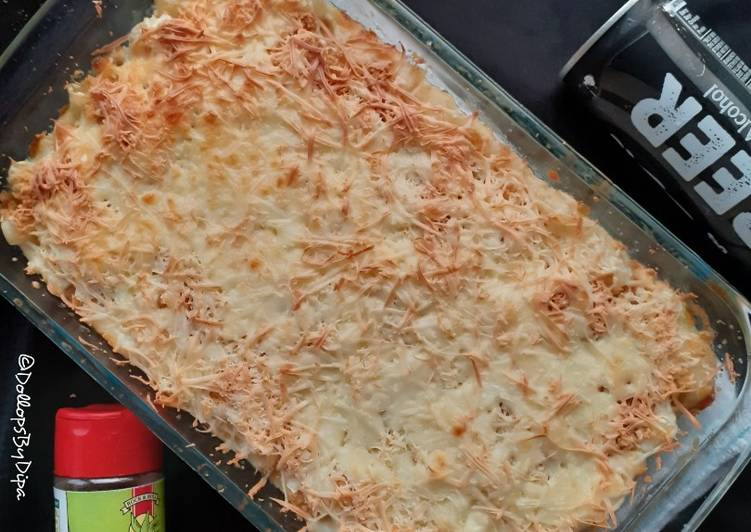 Step-by-Step Guide to Prepare Any-night-of-the-week Baked Mac and Cheese