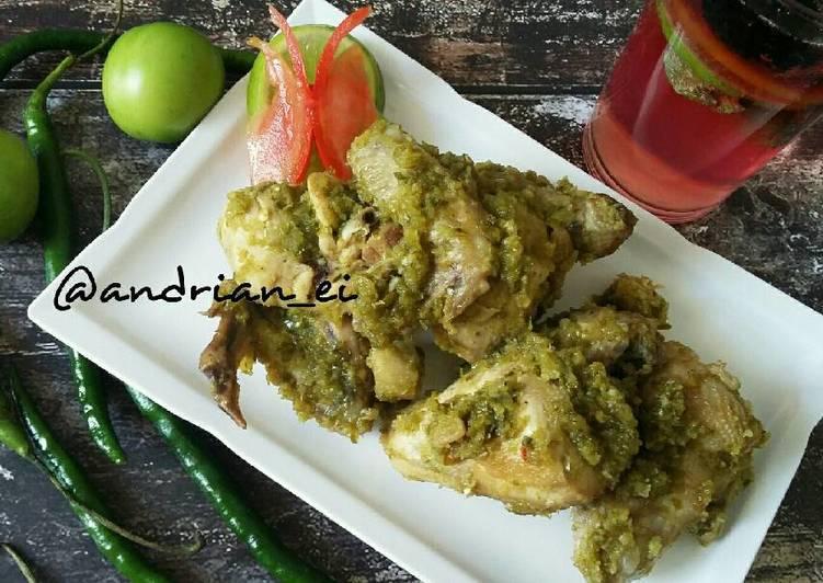 Ayam Sambel Hijau