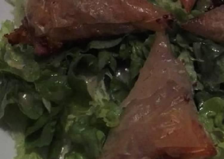 recette Samoussas Normands le délicieux