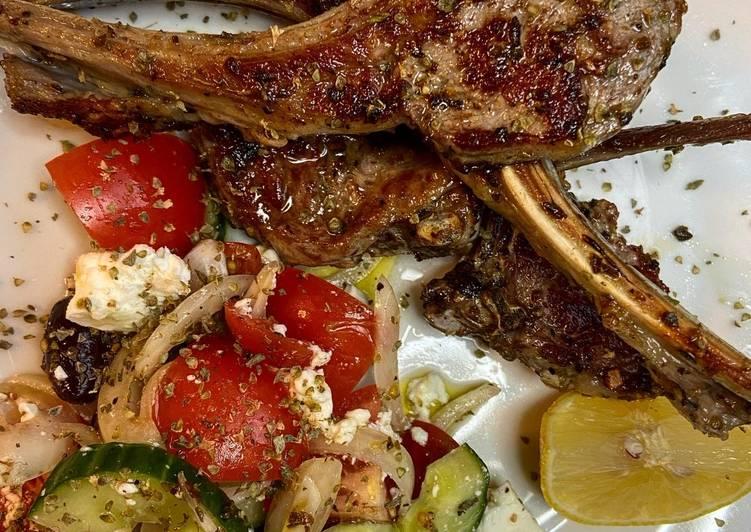 Greek Lamb Cutlets