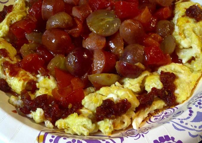 Spicy Hotdog fruit crown