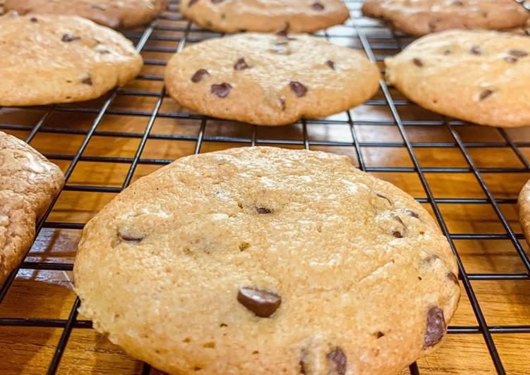 Bagaimana Membuat Chocolate Chips Cookies anti gagal yang Enak