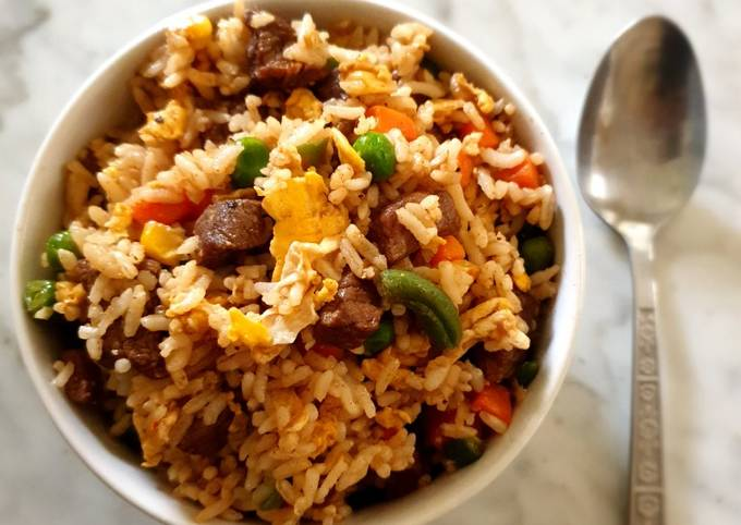 Beef Fried Rice - projectfootsteps.org