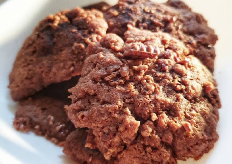Choco Cookies dengan Microwave