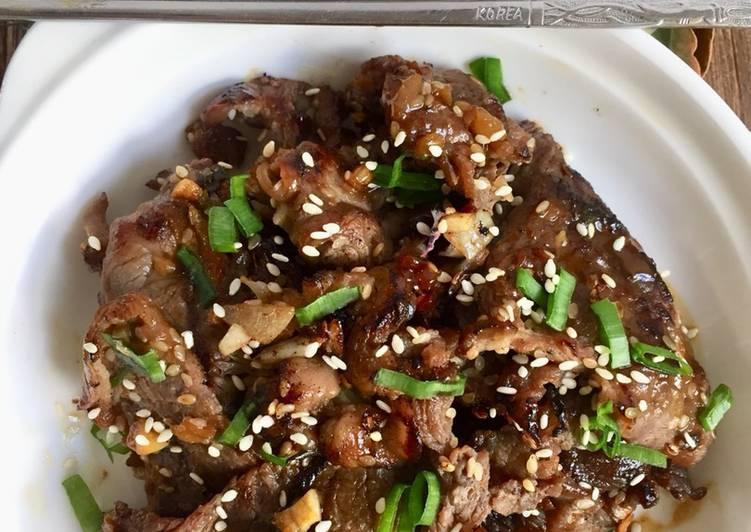 Resep Bulgogi - Korean Beef BBQ oleh silvia novi - Cookpad