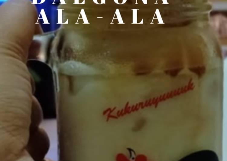 Dalgona Coffee ala Mamak