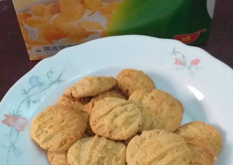 Corn Flakes Chesse Cookies Istimewa