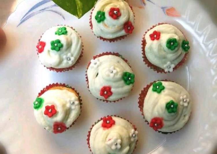 Mawa cup cakes
